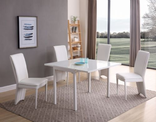 Ayshano White Dining Chair